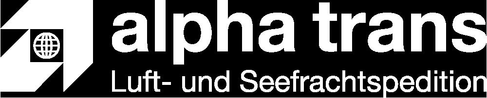 alpha trans Logo weiß